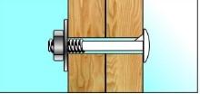 Соединение деталей деревянной мебели