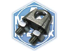 Зажим для стальных канатов DIN 741