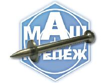 Дюбель-гвоздь металлический для монтажного пистолета с шайбой
