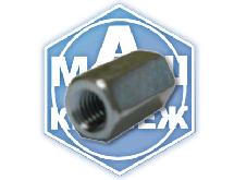 Гайка соединительная удлинённая для шпильки DIN 6334