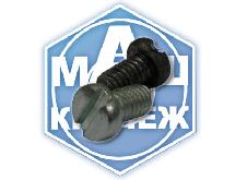 Винт ГОСТ 1491-80, DIN 84 (цилиндрическая головка плоский шлиц)